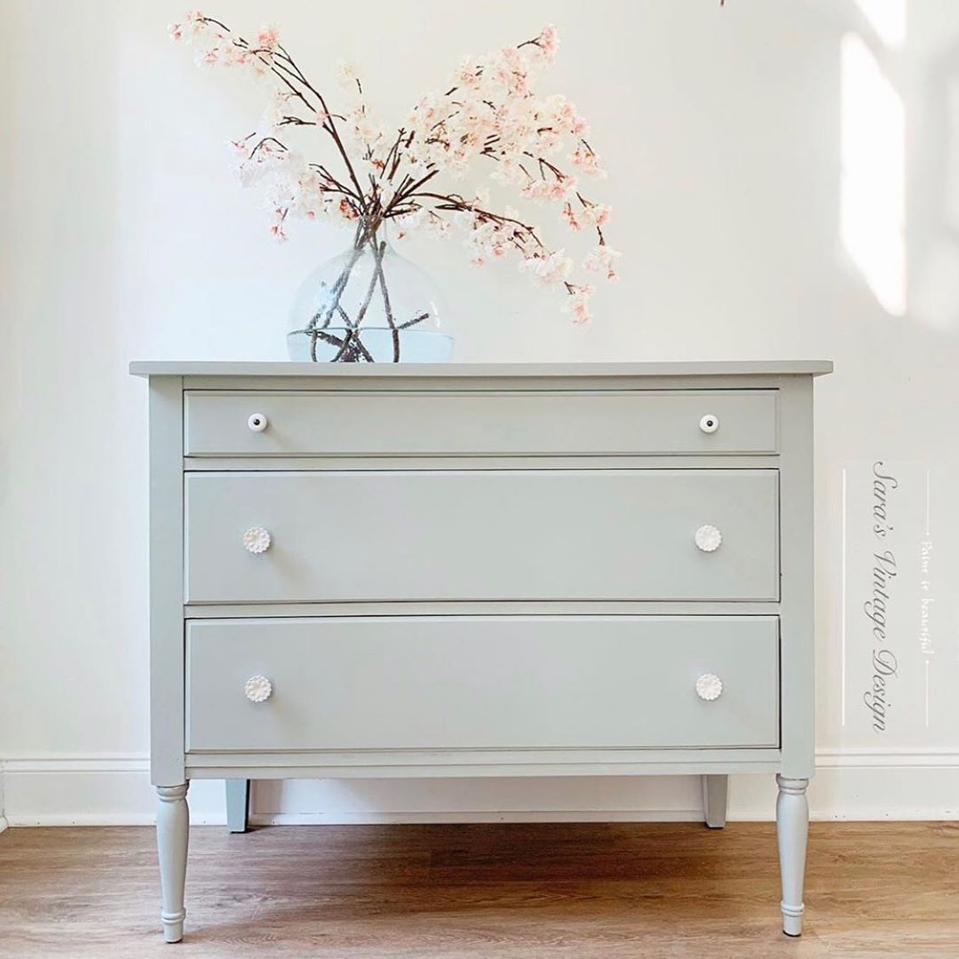How To Make A Custom Color Chalk Paint Sage Green Chalk Paint