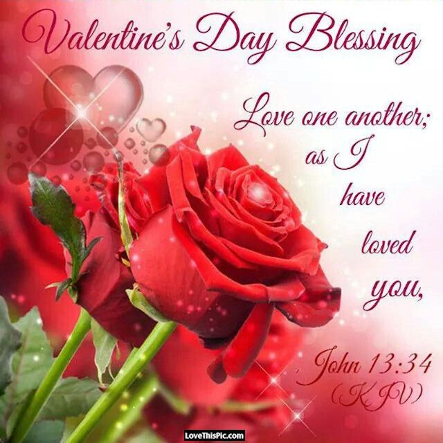 Valentines Day Blessings Religious Quote Holidays Valentines