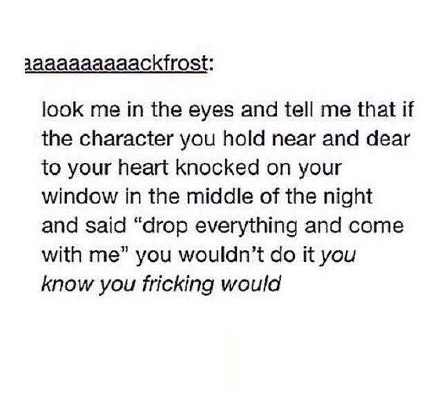I would