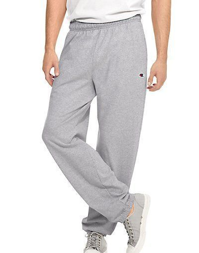 Champion Authentic Men's Closed Bottom Jersey Sweat Pants S - 2XL 4 COLORS #Champion #TrackSweatPants