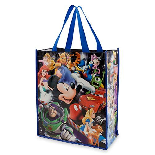 Disney Store World Of Disney Mickey Toy Story Princess Reusable Tote Bag ** This is an Amazon Affiliate link. You can find out more details at the link of the image.