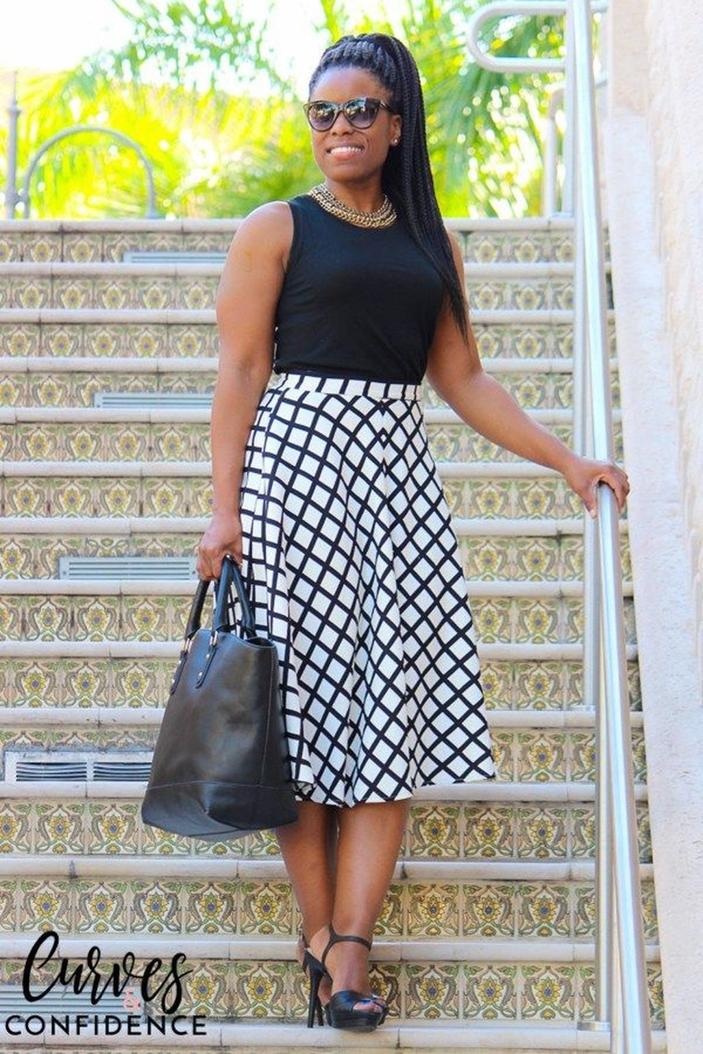 dcc02b89ced Amazing Black And White Spring Outfits 2018 25