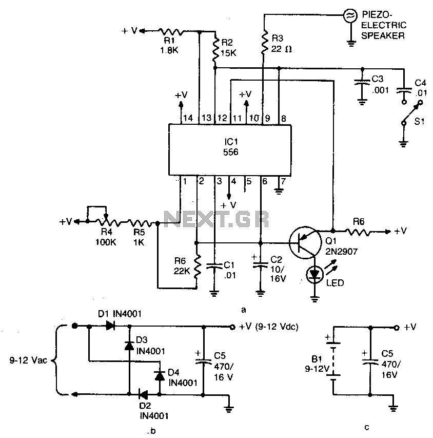 Ultrasonic pest repeller - schematic | bird 3 | Garden pests, Garden