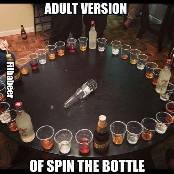 Can Drinking Get Any Better Adult Version Of Spin The Bottle