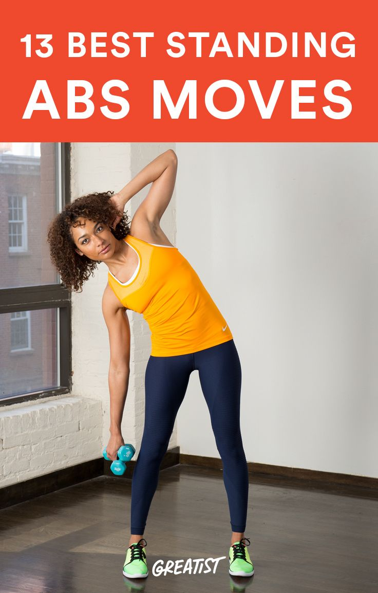 The 13 Best Abs Exercises You Can Do Standing Up Self