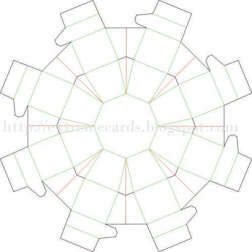doosje vouwen Papier vouwen origami Pinterest - gift box template free