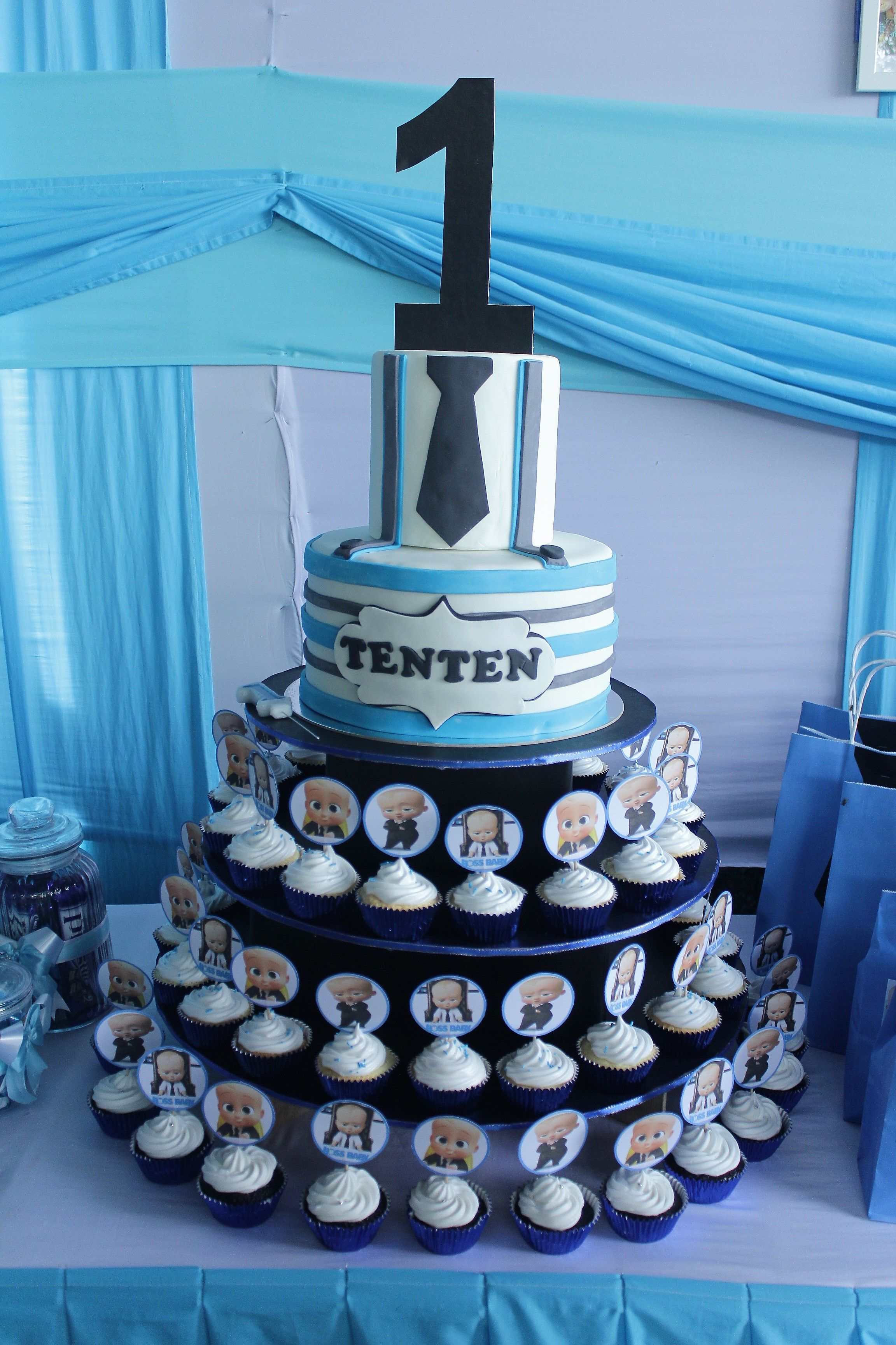 Boss Baby Cake A Boss Baby Birthday Party For My Son In 2019