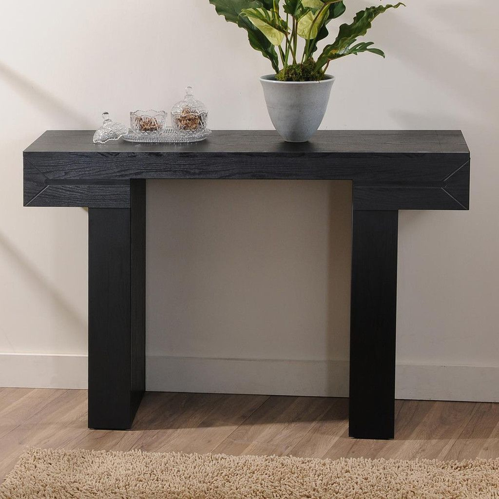 2018 Black Sofa Tables Combine Elegance And Class With