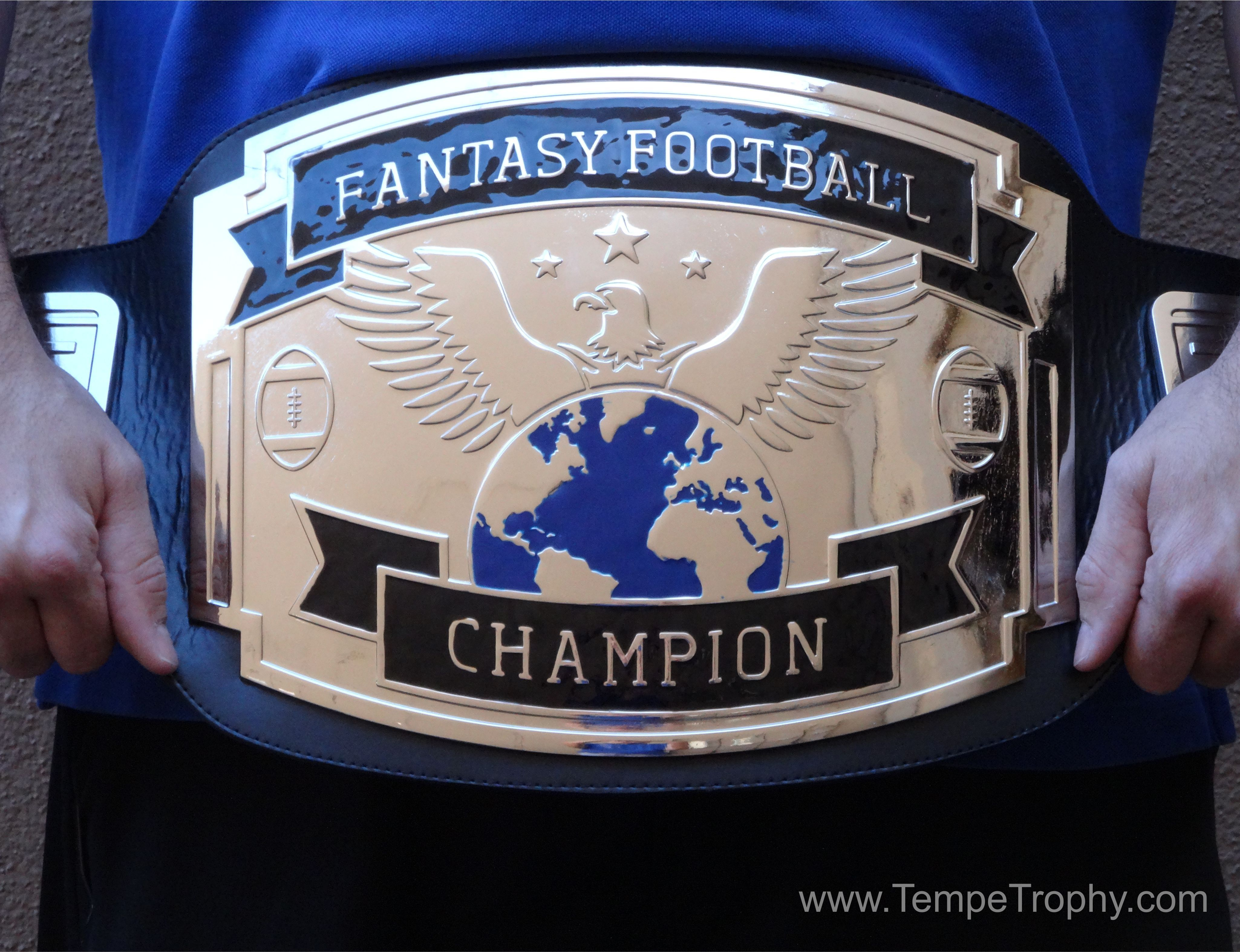 Fantasy football championship wrestling belt its awesome
