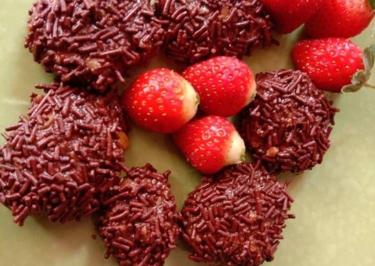 Cara Membuat Bola Bola Coklat Kacang Merah Lezat Nikmat Resep Us Resep Kacang Kacang Merah Coklat