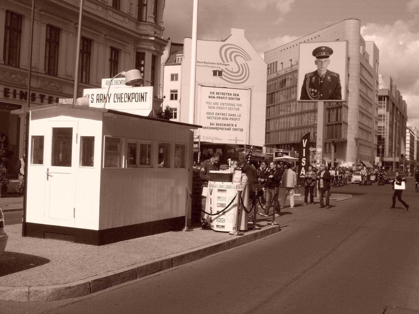 Germany Checkpoint Charlie Abecebacefabb