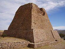 Votive Pyramid at La Quemada