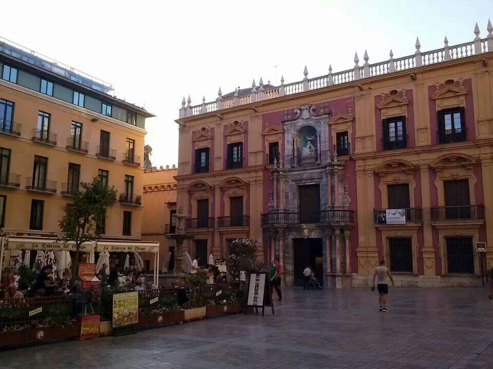Plaza del Obispo Málaga