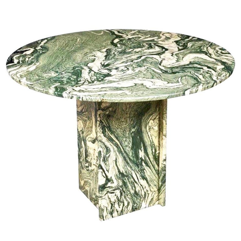Marble Round Table Pedestal Base