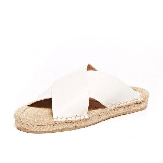 Soludos Criss Cross Platform Sandal // #shoes