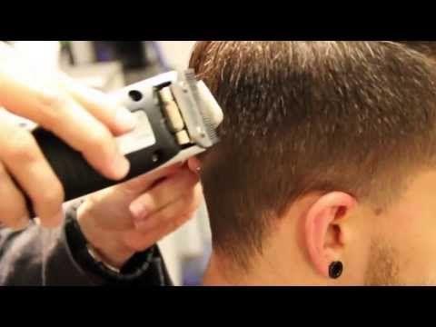 2014 Haircut Tutorial How to Cut a Pompadour Haircut Men Haircut and Hairstyle - YouTube