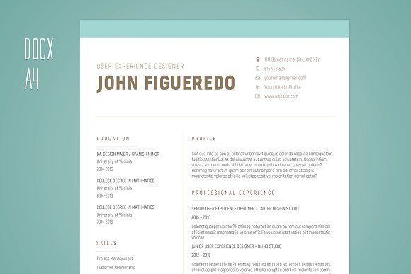 Resume - Single Page \ Cover Letter by HattoriSupplyCo on - single page resume