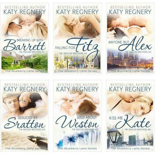 New covers and a new name for this great series : The Blueberry Lane Series by Katy Regnery
