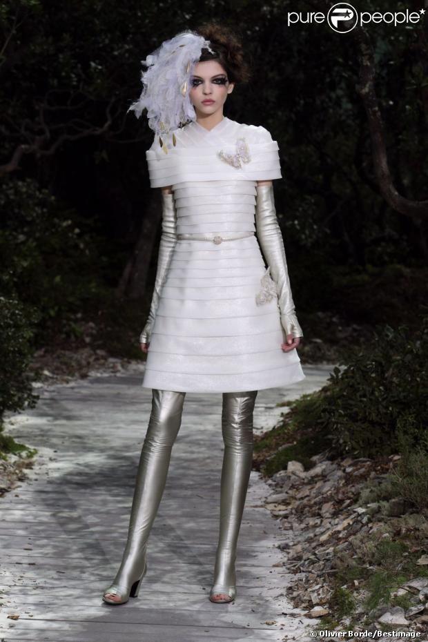 Défilé Haute Couture Chanel printemps été 2013
