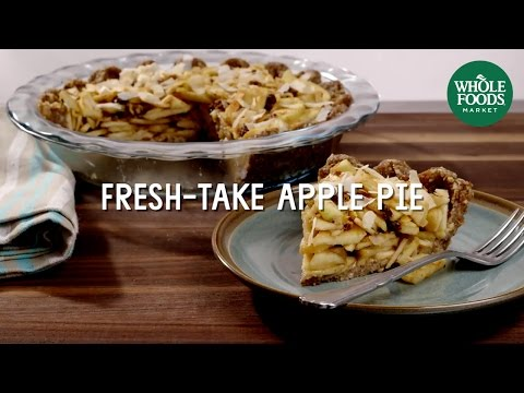8 Vegan Apple Pie Special Diet Recipes Whole Foods Market Youtube Whole Food Recipes Vegan Apple Pie Food Processor Recipes