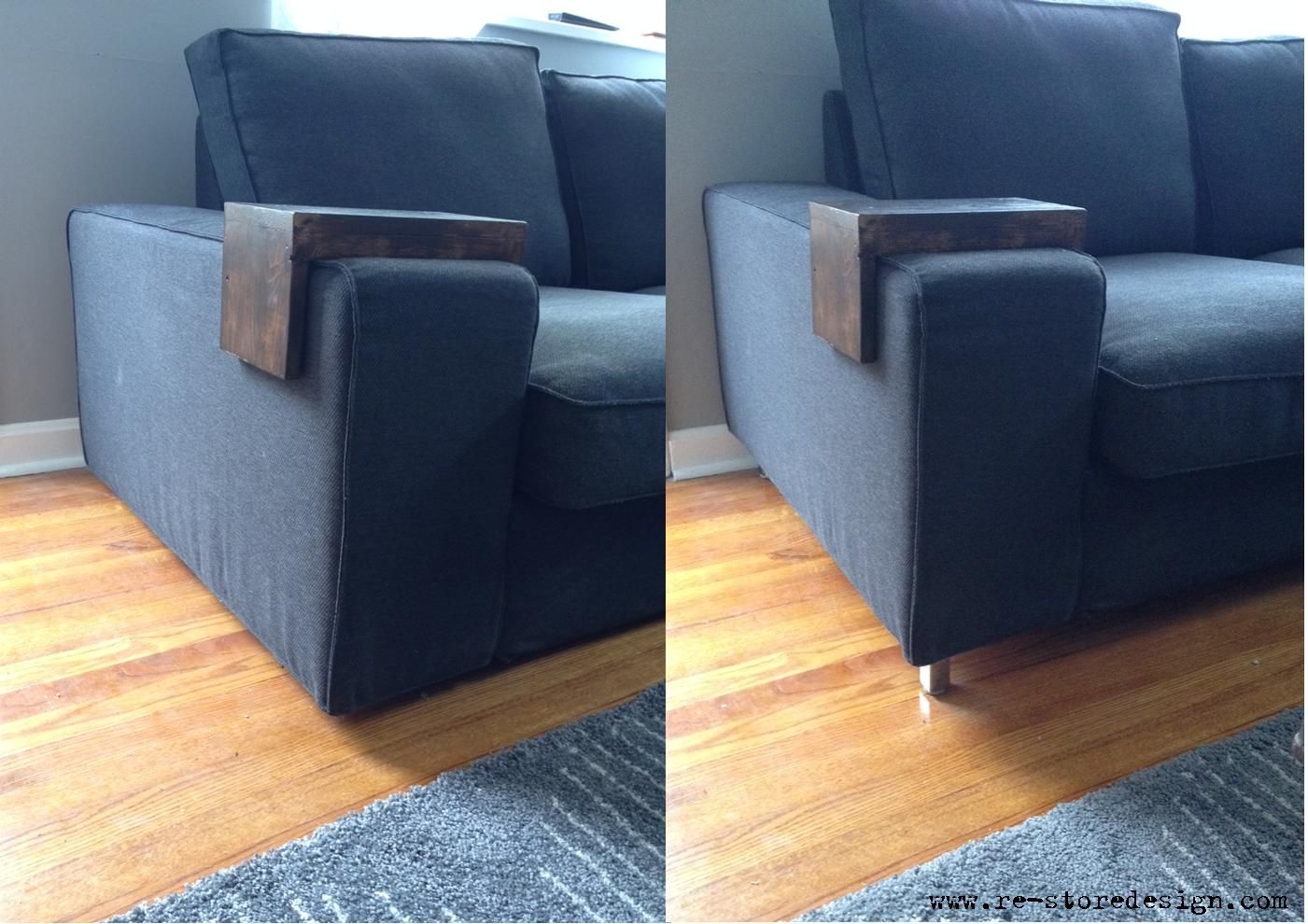 Furniture Legs For Ikea updating a couch with some #ikea besta legs @covercouch
