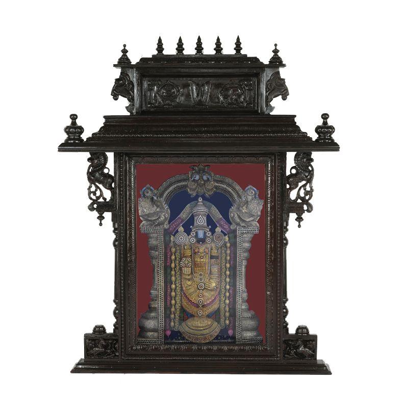 Tirupathi Balaji Tanjore Paiting Gives You That Feel Of