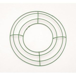 Metal Wreath Forms 8 Inch Green Wire Frame Metal Wreath Forms Metal Wreath Wire Wreath Forms