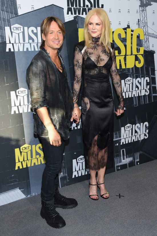 Keith Urban and Nicole Kidman Lose the Plot at the CMT Music Awards