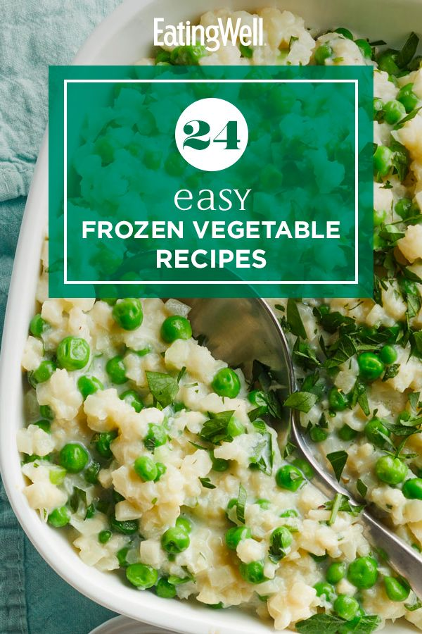 24 Easy Frozen Vegetable Recipes