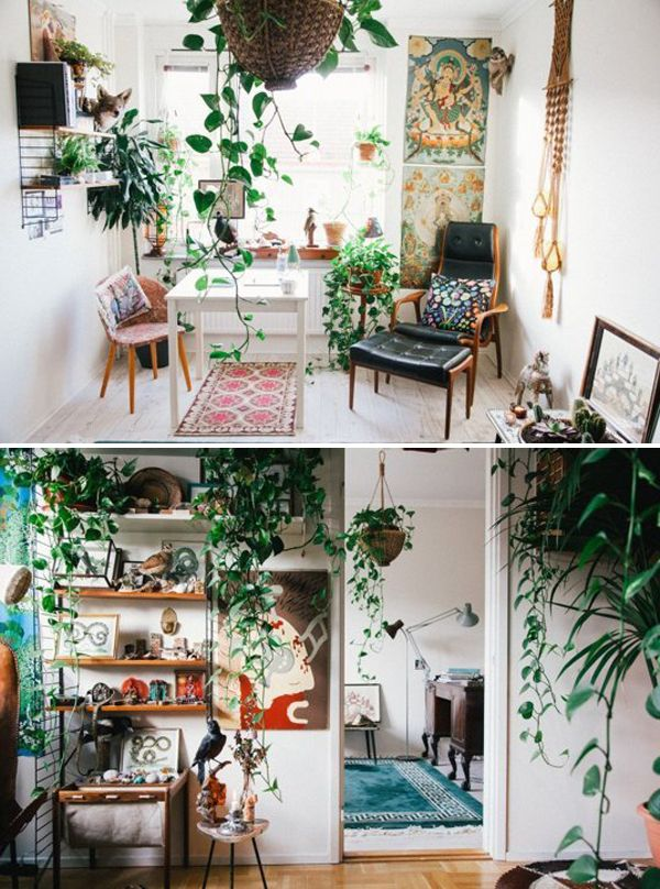 10 Wonderful Rooms With Urban Jungle | Home | Tropical ...