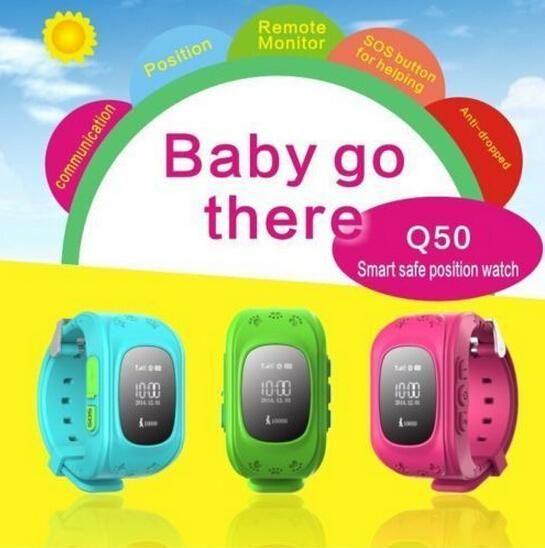 Heart Rate Monitor Smart Watch Q50 Kids Gps Tracker Smart Children Watch Double Locate Remote Monitor Sos Wrist Gps Tracker Watch Gps Tracker Wearable Device