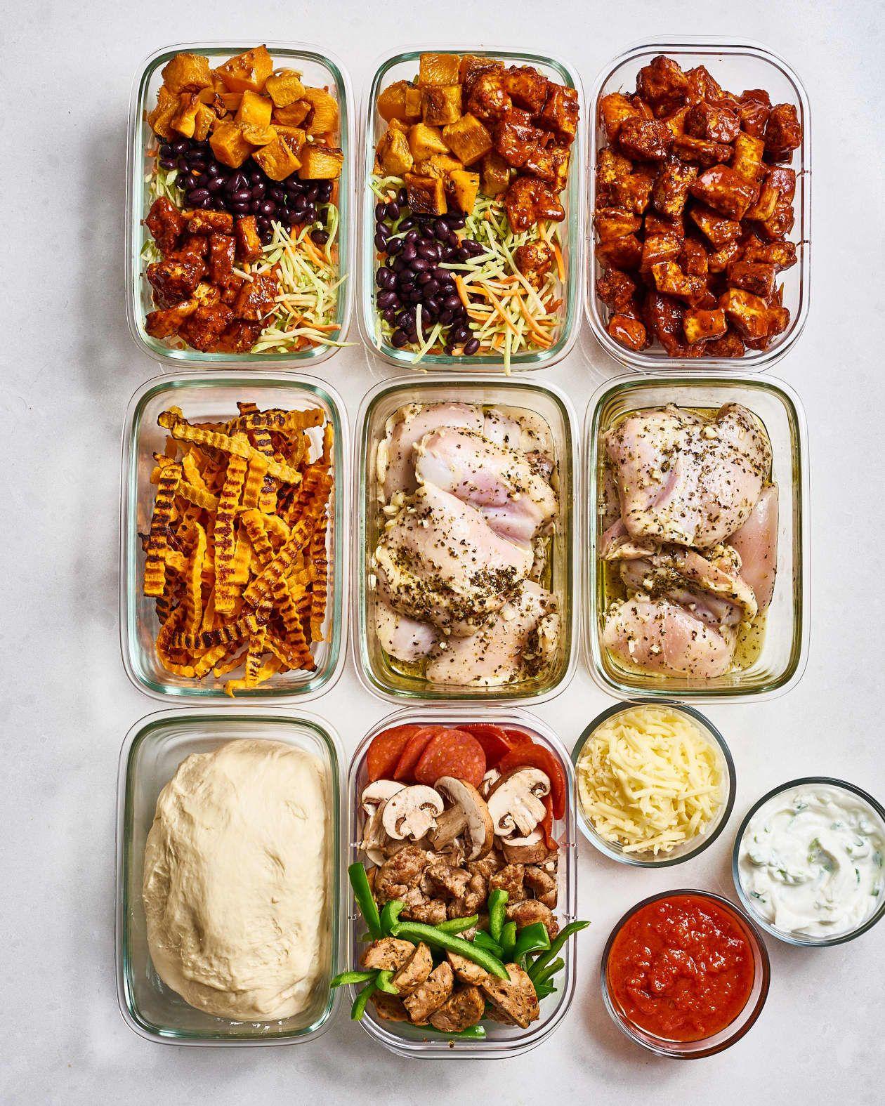 Meal Prep Plan A Week Of Easy Sheet Pan Meals