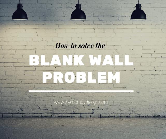 Bare Walls Decorating Ideas