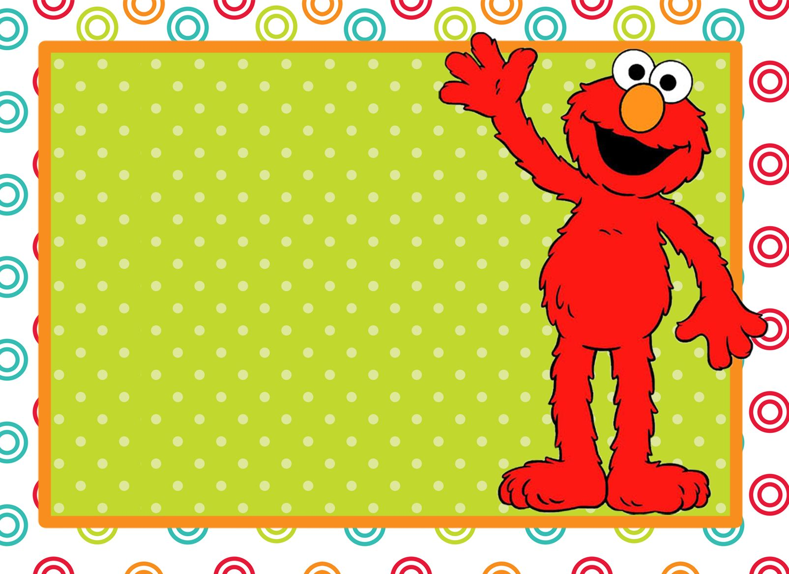 Lots of great ideas here. Use the Blank elmo invitation free ...