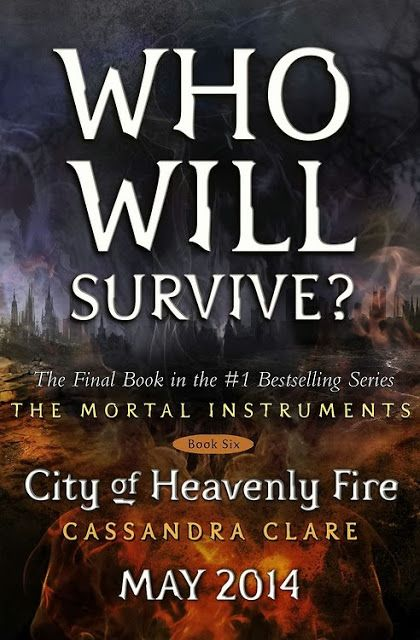 Place Holder Art for 'The Mortal Instruments: CITY OF HEAVENLY FIRE' Revealed