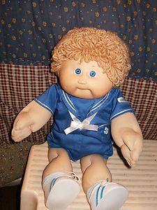 Vintage Cabbage Patch Kids Boy In Sailor Suit Cabbage Patch Kids Boy Cabbage Patch Kids Cabbage Patch Kids Dolls
