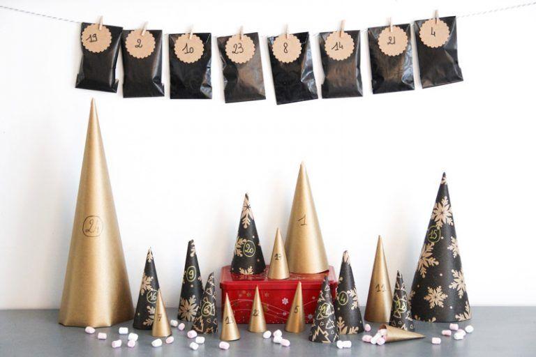 C'est bientôt Noël : Calendriers de l'Avent faits maison