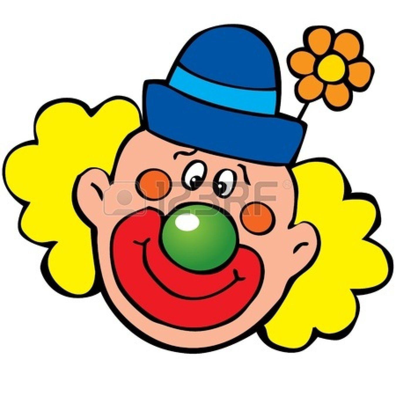 Clown Face Clip Art Clown Clip Art 15067566 Happy Clown Art Illustration On A White Clip Art Doll Drawing Free Clip Art