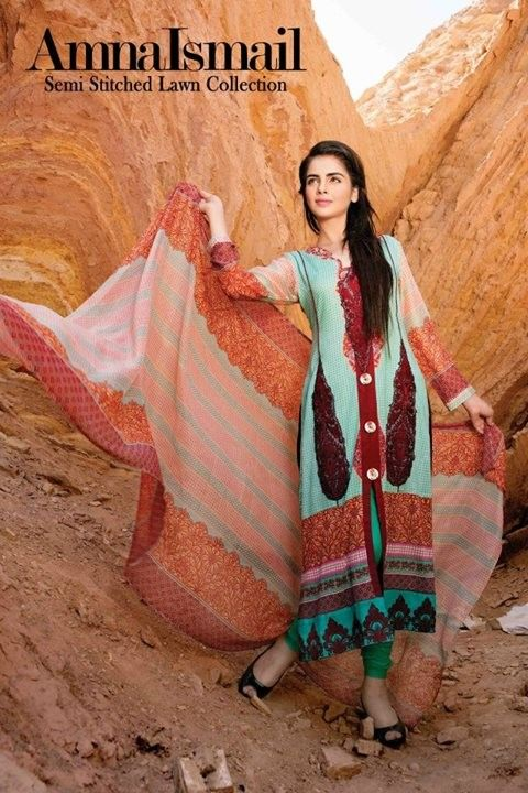 Amna Ismail Vol 3 Summer Lawn 2014 Latest Collection for Girls 14 Amna Ismail Vol 3 Summer Lawn 2014 Latest Collection for Girls