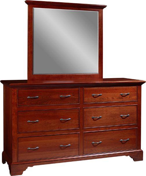 Lancaster Court Collection \u2013 Dresser with Mirror Bedroom Furniture