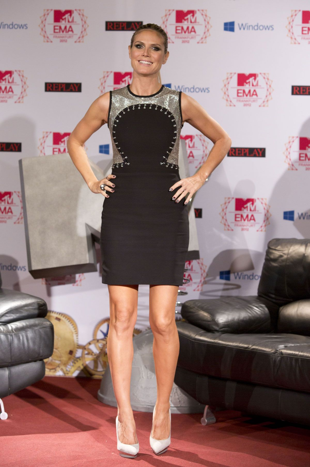 Heidi Klum Mtv European Music Awards  Photocall In Frankfurt