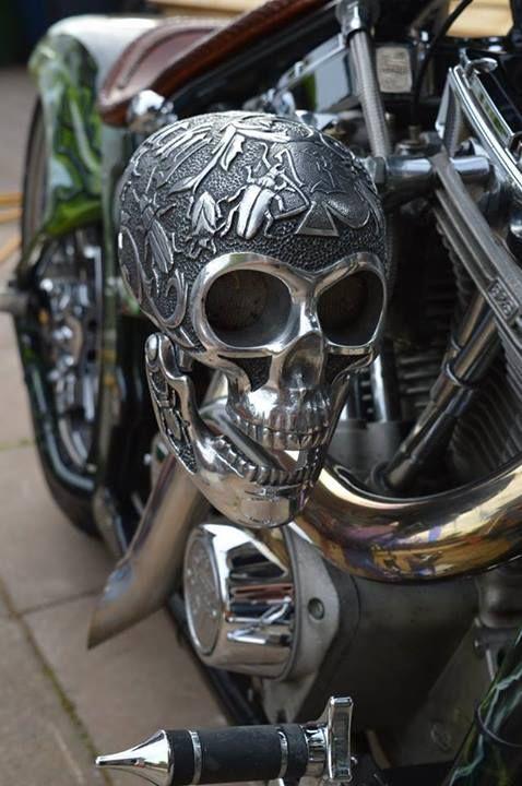 Ugurbilgin United Riders Brotherhood Motorcycle Club Of Turkey Skull Engrave Motorcycle Bike Custom Choppers Bike