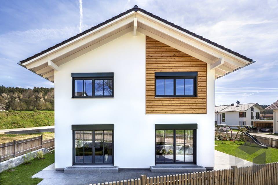 Hausbau satteldach  Glonn von Regnauer Hausbau | Klassiker | Satteldach | Porch ...