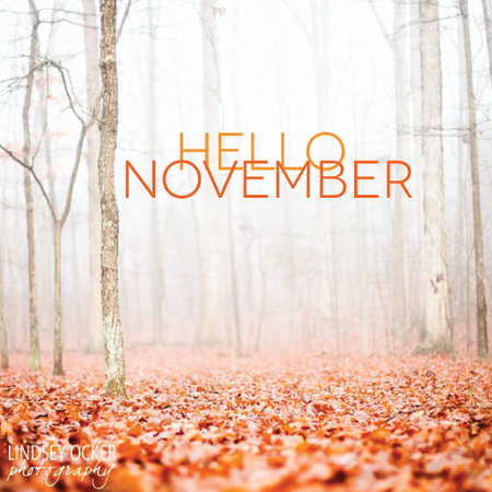 New month, fresh starts, positive thoughts!