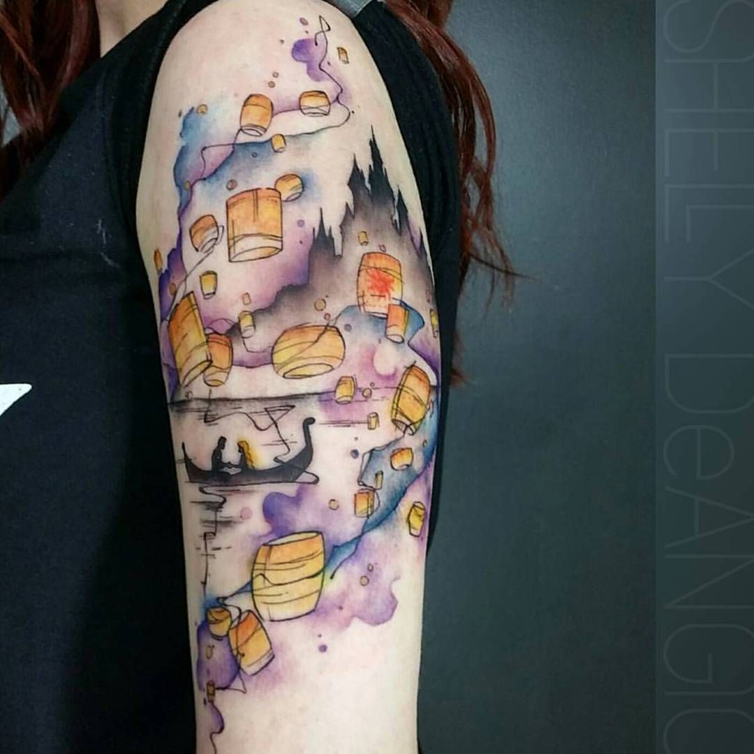 But going up my leg | Disney sleeve tattoos, Disney tattoos ...
