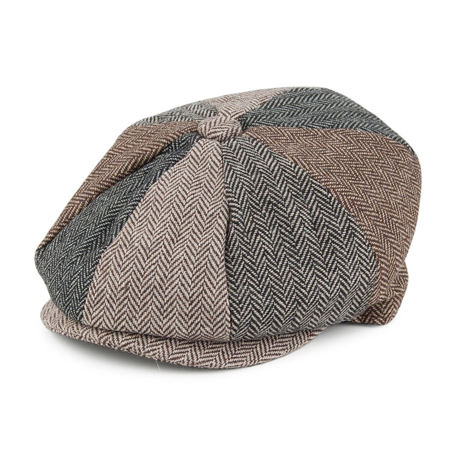 aa5a7e88794 Other Vintage Clothing 91247  Jaxon And James Kids Herringbone Multipatch Newsboy  Cap -  BUY IT NOW ONLY   13.49 on eBay!