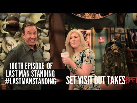 Funny Outtakes from the 100th Episode Celebration of Last Man Standing with the Cast on Set #‎LastManStanding
