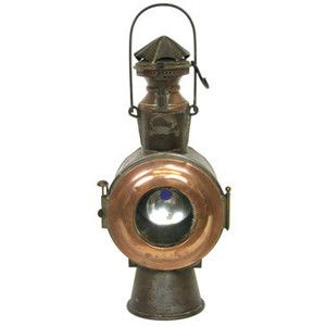 Antique Train Lamp   Living in the Room   Pinterest   Vintage ...