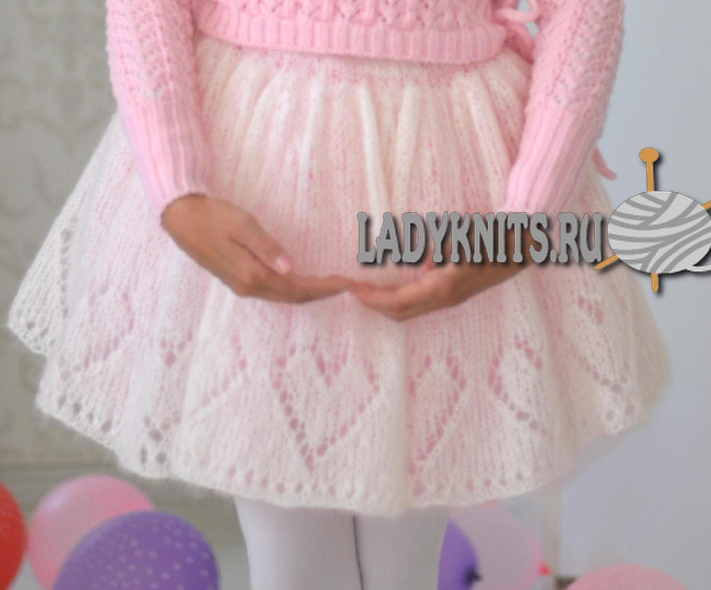 Нарядная юбка детская