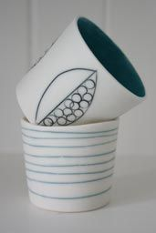 Ceramic Flower Vase or Jug   by Lara - Ceramicist